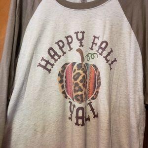 Happy Fall Yall plus size